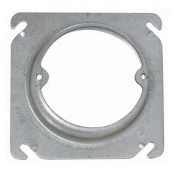 PLASTER RING 4SQX1-1/4 RD RAISED