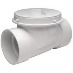 "PRO CHECK 4"" BACKWATER VALVE PVC"