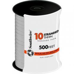 WIRE 10 THHN STRANDED WHITE 500FT REEL