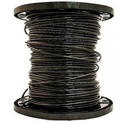 WIRE 8 THHN STRD BK 500FT REEL