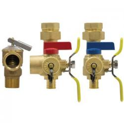 H-14443WPR-GST TANKLESS WATER HEATER KIT PEX ADAPTORS W/FLEX GAS CONNECTION