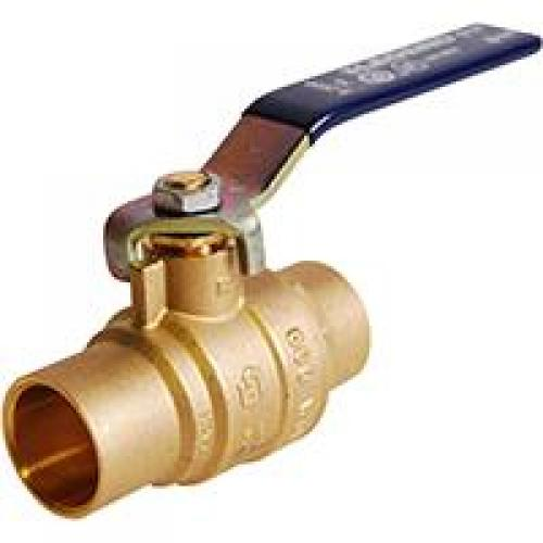 BALL VALVE 1/2 SWEAT NO LEAD S2000