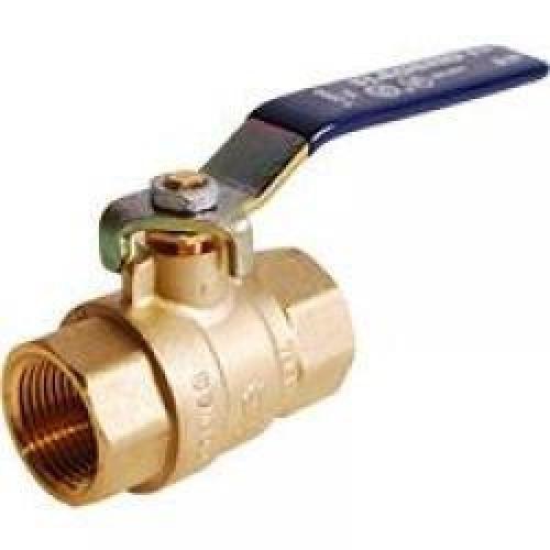 BALL VALVE 1 1/4 THREADED NO LEAD