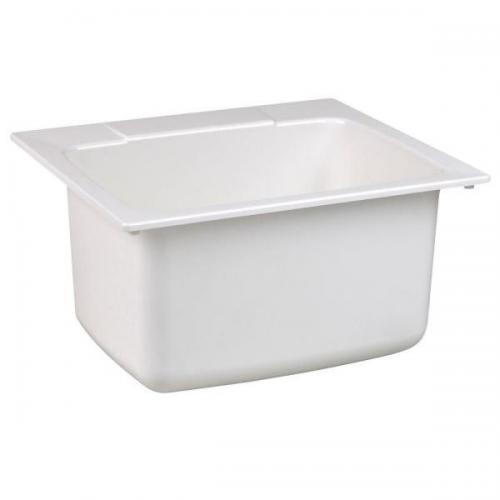 10 WHT DROP-IN SINK