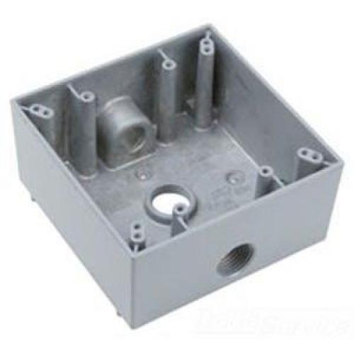 BOX WP GRY 2G 3-1/2 HUBS